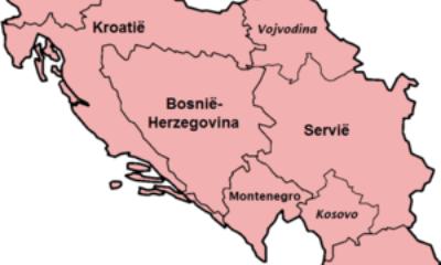 Republieken van Joegoslavië 1945 91